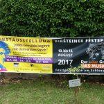 Banner  Kunstausstellung - Steinau - Birstein - Gelnhausen und Musical