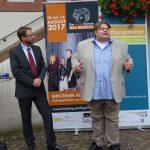 Museumsleiter Burkhard Kling bei seiner Eröffnungsrede